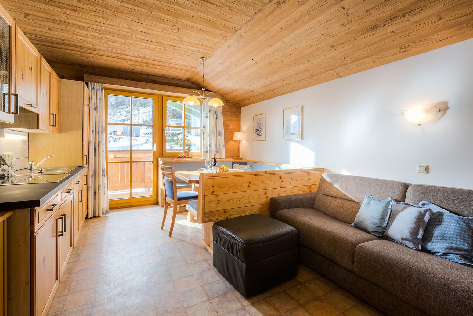 Ferienwohnungen in Obertauern - Apparthotel Kirchgasser