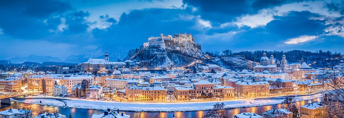 Festung Hohensalzburg - Tagesausflüge, Winterurlaub & Skiurlaub in Obertauern, Salzburger Land, Apparthotel Kirchgasser