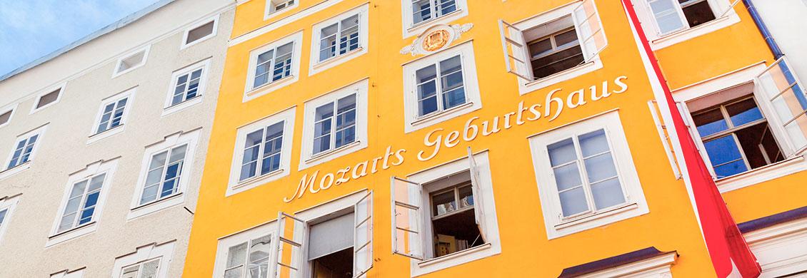 Mozarts Geburtshaus - Tagesausflüge, Winterurlaub & Skiurlaub in Obertauern, Salzburger Land, Apparthotel Kirchgasser