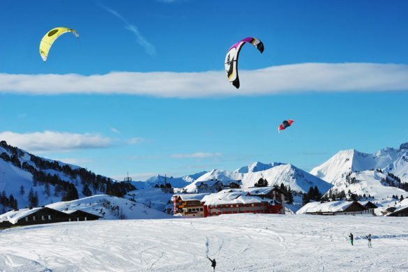 Snowkiten im Winter- & Skiurlaub in Obertauern, Salzburg