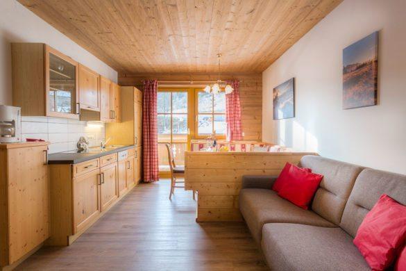 Vergissmeinnicht - Ferienwohnung in Obertauern, Apparthotel Kirchgasser